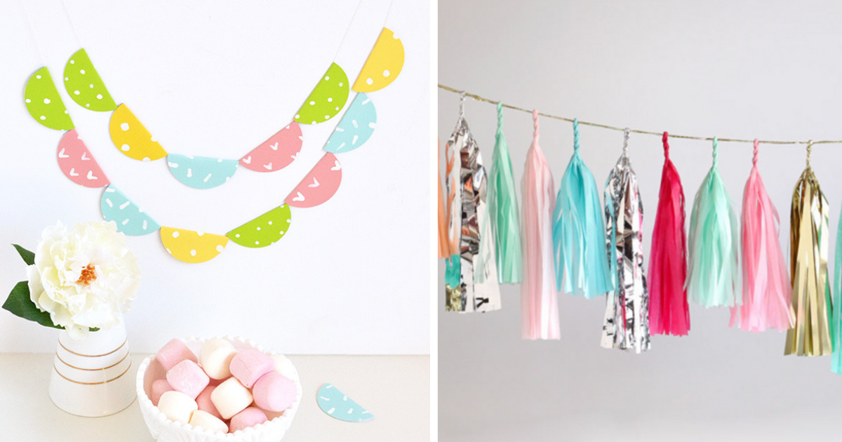 15 Easy Diy Paper Garland Ideas For Any Occasion