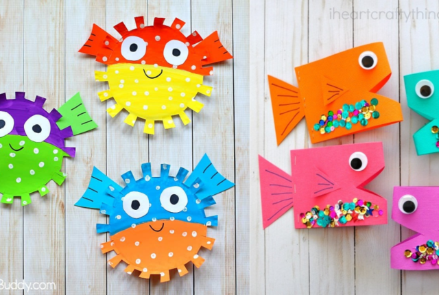 Fintastic Fish Crafts For Kids For Waves Of Laughter