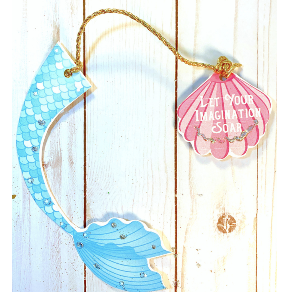 mermaid bookmarks