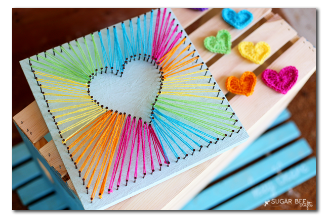 how-to-make-rainbow-heart-string-art
