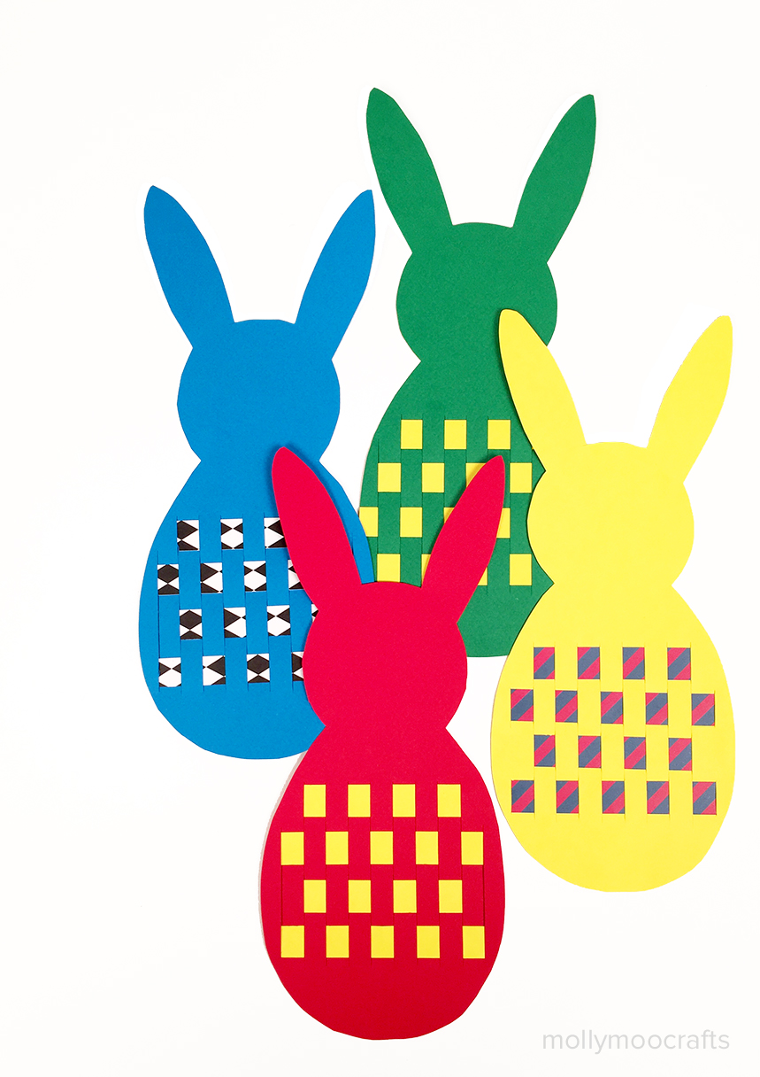 paper-bunny-weaving