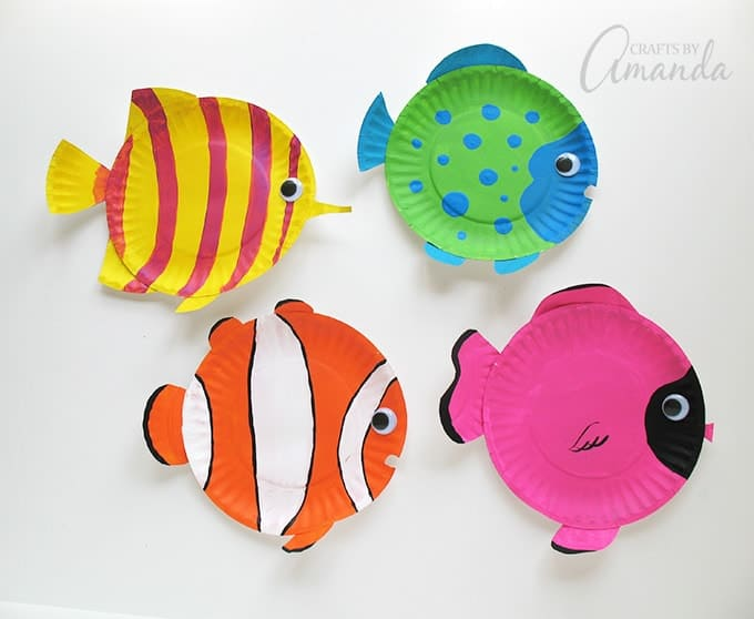 paper-plate-tropical-fish