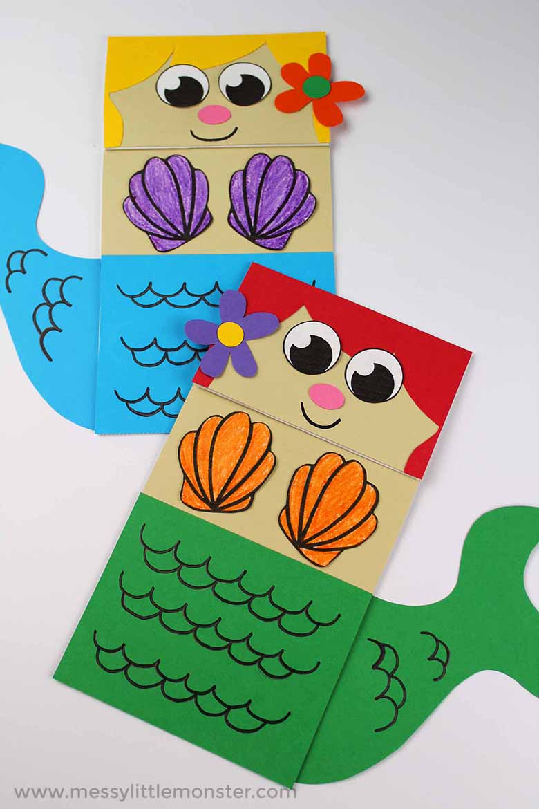under-the-sea-activity-mermaid-paper-bag-puppet