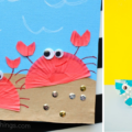15 DIY Coastal Beach Crafts For Kids To Make For Summer