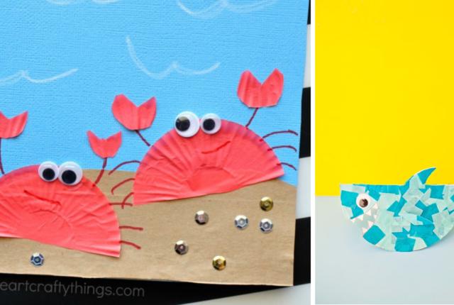 15 DIY Coastal Beach Crafts For Kids To Make For Summer