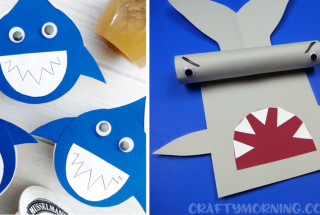 15 Jawsome Shark Crafts For Kids That Will Make A Splash