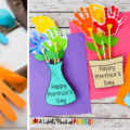 Keep your preschool kids' minds and hands busy with easy handprint crafts. Check out some creative ideas for handprint art here!