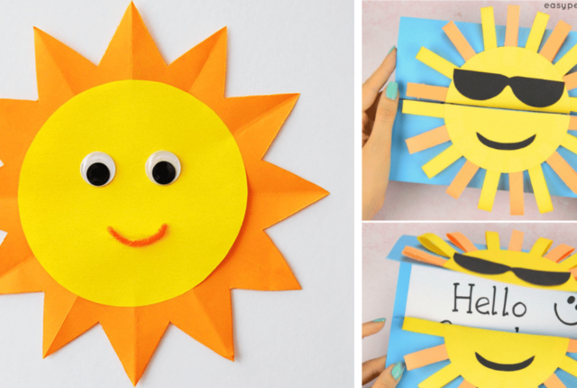 """Sunsational"" Sun Crafts For Kids To Brighten Their Day"