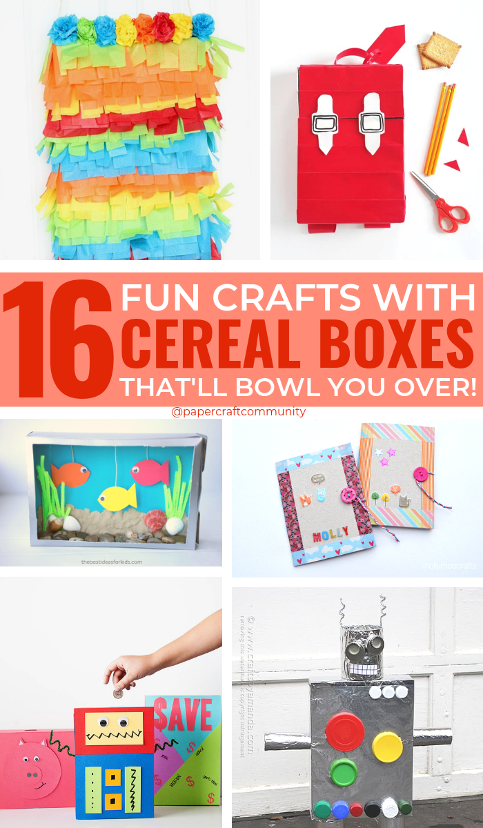 Creative Cereal Box Crafts For Kids That Will Bowl You Over, Cereal craft and activities #kidscrafts #kidsactivities #cerealbox #cerealboxes #diycrafts