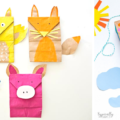 Playful Paper Bag Crafts For Kids To Make