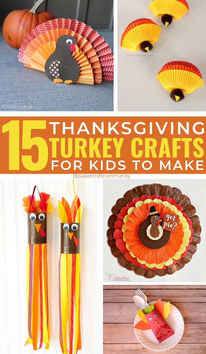 Thanksgiving Turkey Crafts For Kids To Feast Your Eyes On #kidscrafts #kidscraft #kidsactivities #turkeycrafts #thanksgivingcrafts #fallcrafts